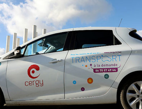 Transport à la demande : du nouveau à Cergy !